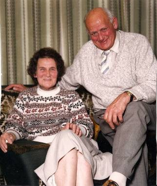 Joyce (1921-2008) and Jack Campbell (1922-2008) grove