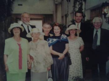Much loved and missed Nanny and Papa grove