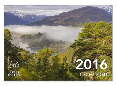 Trees for Life calendar 2016 <br><b>HALF PRICE</b>