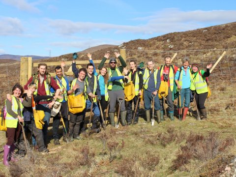31 March 2018: Rewilding Dundreggan