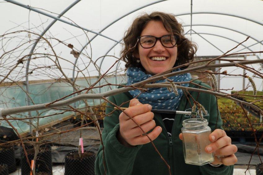 IMG_9082 Emma Beckinsale thụ phấn cho phụ nữ Aspen trong polytunnel