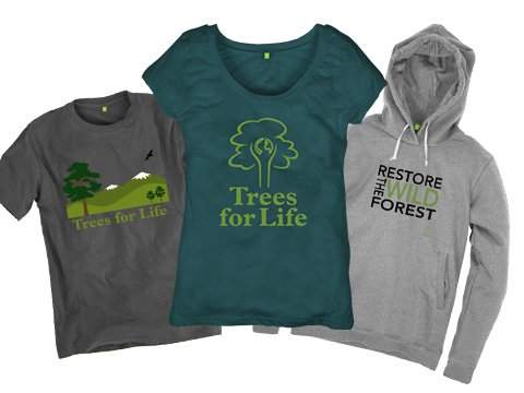 Trees for Life clothing store <BR><BR><b>From £19 *external link</b>