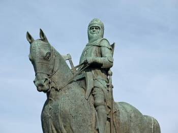 Robert the Bruce - King of Scots grove